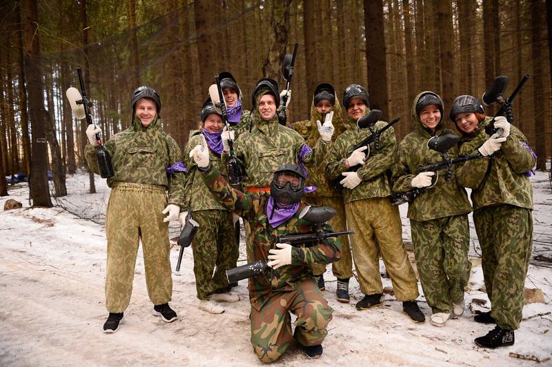 тимбилдинг Солдаты удачи