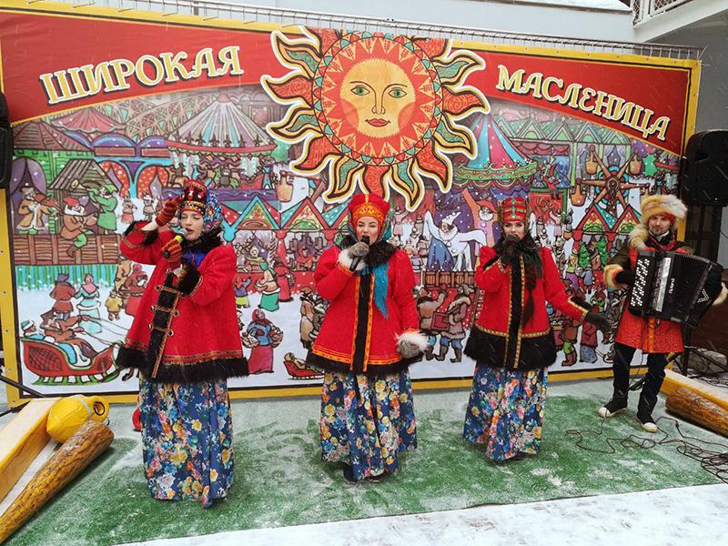 компания teampower организовала Масленицу в Москве