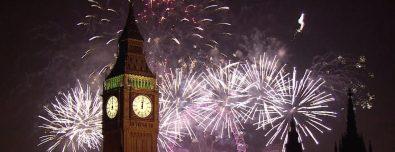 Новый год в английском стиле