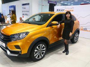 Развлекательная программа на Презентации автомобиляLADA XRAY Cross